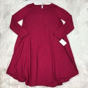 Zenna Outfitters Long Sleeve Shift Dress